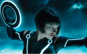 "Oliva Wilde as ""Quorra"" from ""Tron: Legacy"""